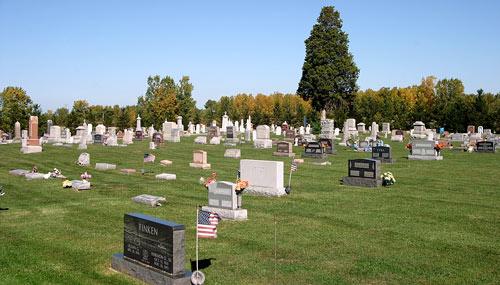 rusha cemetery