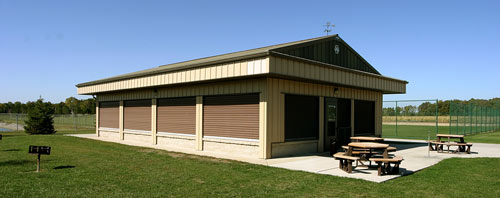 township hall shelter rental facility